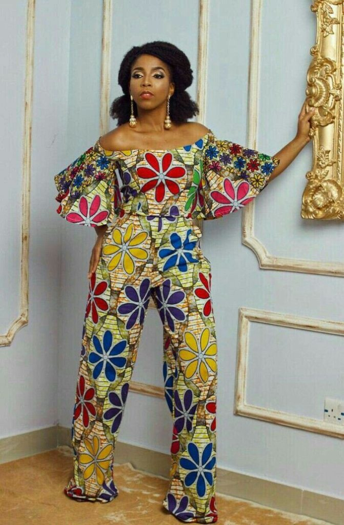 Latest Ankara Jumpsuit Styles For Ladies April 2019