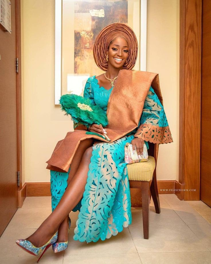 Yoruba Introduction Outfits For Couples
