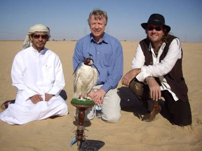 Falconing in Dubai