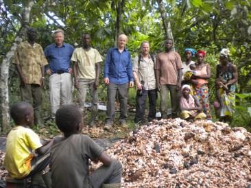 Cocoa farms in Ivory Coast still using child labour