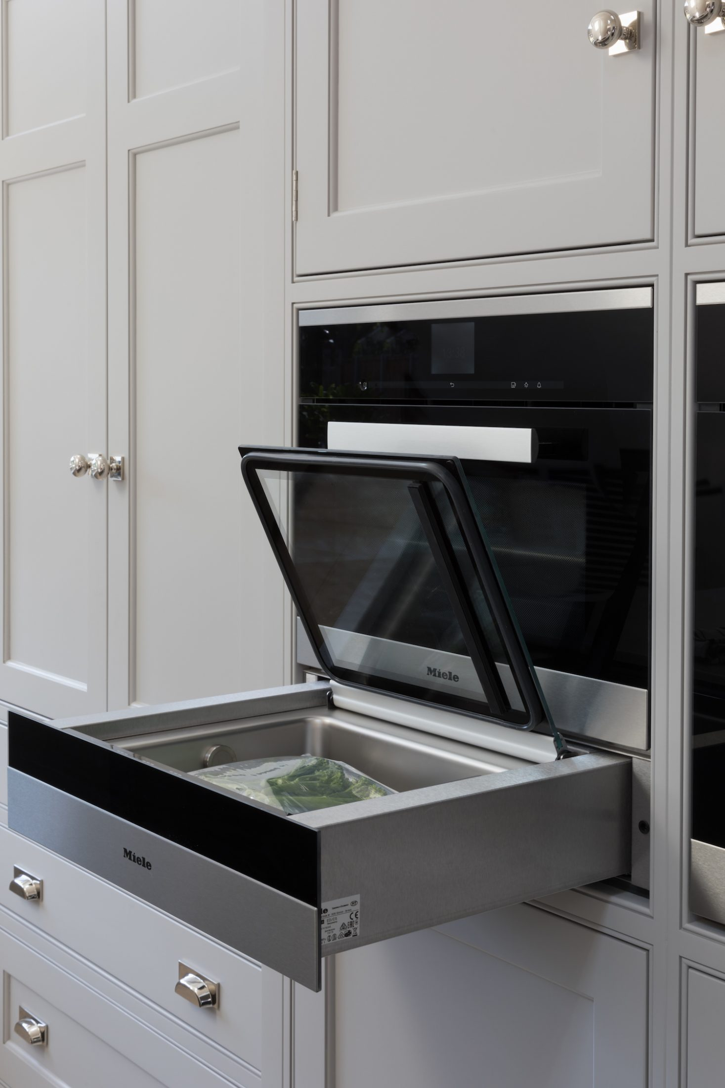 Miele Sous Vide Vacuum Sealing Drawer Humphrey Munson Kitchens