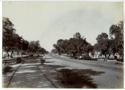 Glimpse of The Mall Rd., Rawalpindi from 1890s