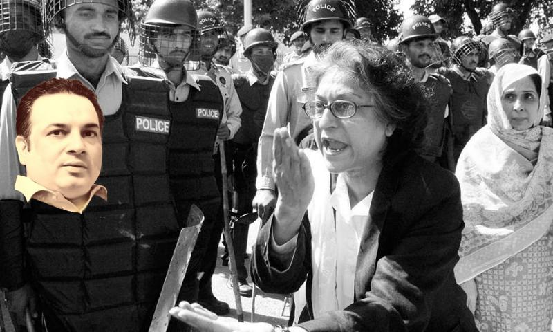 عاصمہ جہانگیر، بھینسا اور موم بتی مافیا کا فساد