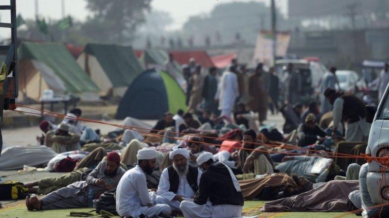 احتجاج، اسلام آباد