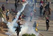 دھرنے کے خلاف آپریشن، اسلام آباد میدان جنگ بن گیا