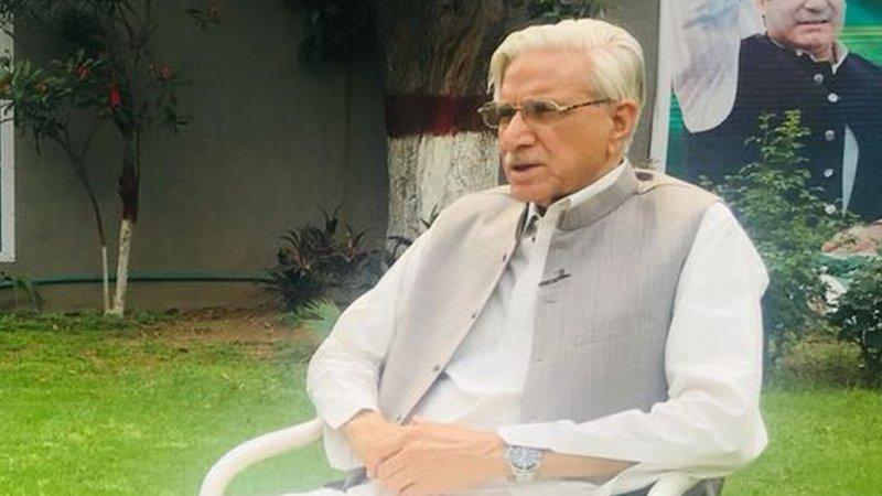 وفاقی وزیر قانون محمود بشیر