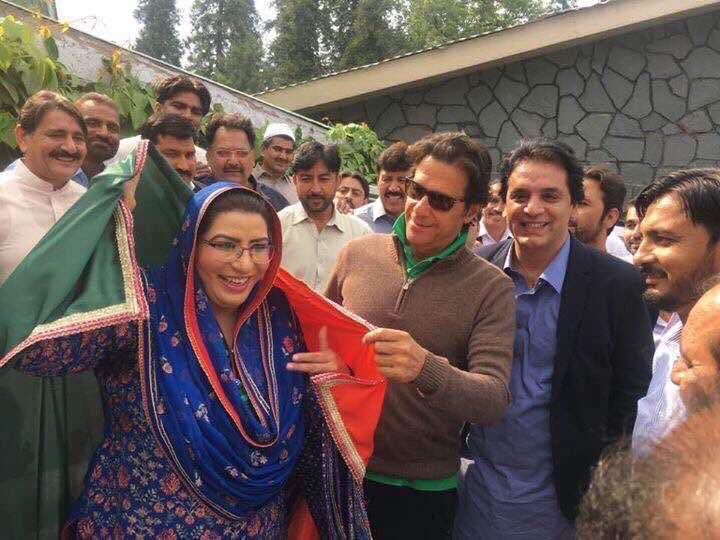 فردوس عاشق پیپلزپارٹی کے بعد عمران خان کو بھی چھوڑ گئیں: مسلم لیگ (ن) میں شامل ہوں گی