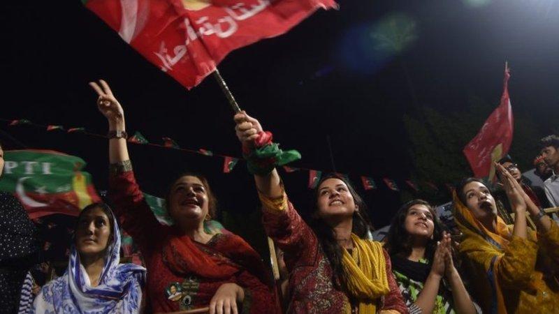 تحریک انصاف کی حامی خواتین