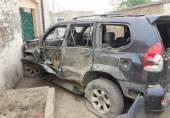 ڈی آئی خان میں اکرام اللہ گنڈا پور پر خود کش حملے کے فورا بعد کے وڈیو مناظر (بچے مت دیکھیں(