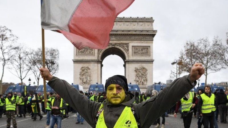 پیرس میں مظاہرے