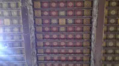 قلعہ دراوڑ - منقش چھت