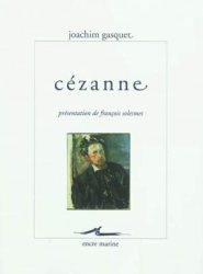 Joachim Gasquet, Cézanne