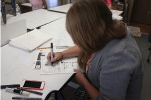 Comic Strip Art Class