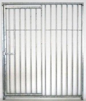 Rohrstabelemet 80mm Tür links Exclusive Line