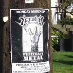 Hundred Loud posters in Seattle