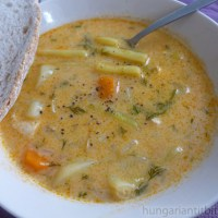 "Hungarian Yellow  ""Green"" Bean Soup"