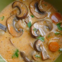 Hungarian Mushroom Soup - Gomba Leves