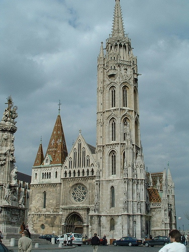 Front of Matthias Church