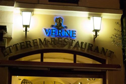 Verne Restaurant in Budapest
