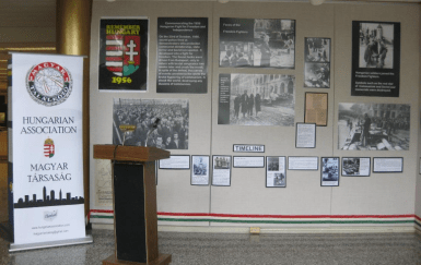 Cleveland Hungarian Association 1956 Exhibit1