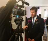 Dr Peter Szilagyi speaking to Hungarian National TV on diaspora issues