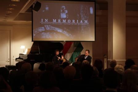 Memorial Concert in New York