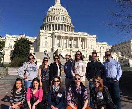 YHLP 2017 participants at the US Capitol