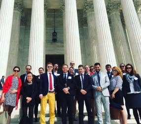 YHLP 2017 visiting the Supreme Court