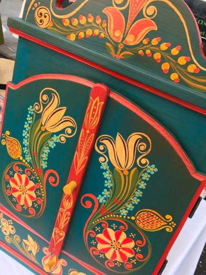 hungarian festival NY furniture painting