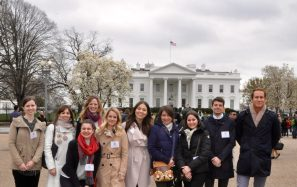 White House YHLP group photo