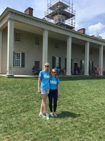 At Mount Vernon