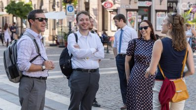Guided tour through the streets of Budapest by Orsolya Domaniczky