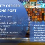Security Officer for Jurong Port