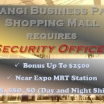 Security Officer for Shopping Mall at Changi Business Park