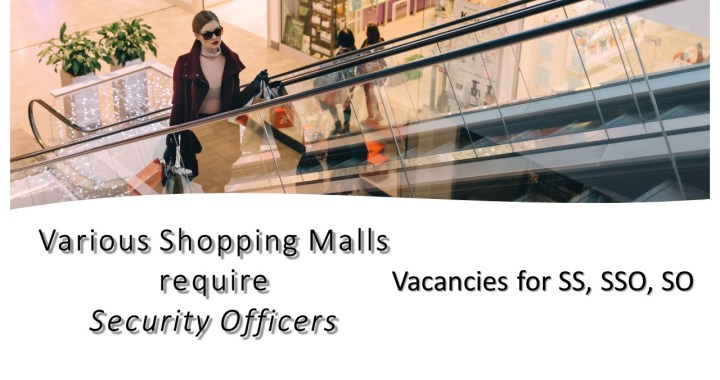 Security Officer - Shopping Centres