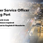 Customer Service Officer @ Jurong Port