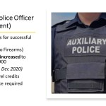 Job Vacancy - Auxiliary Police Officer (Enforcement)