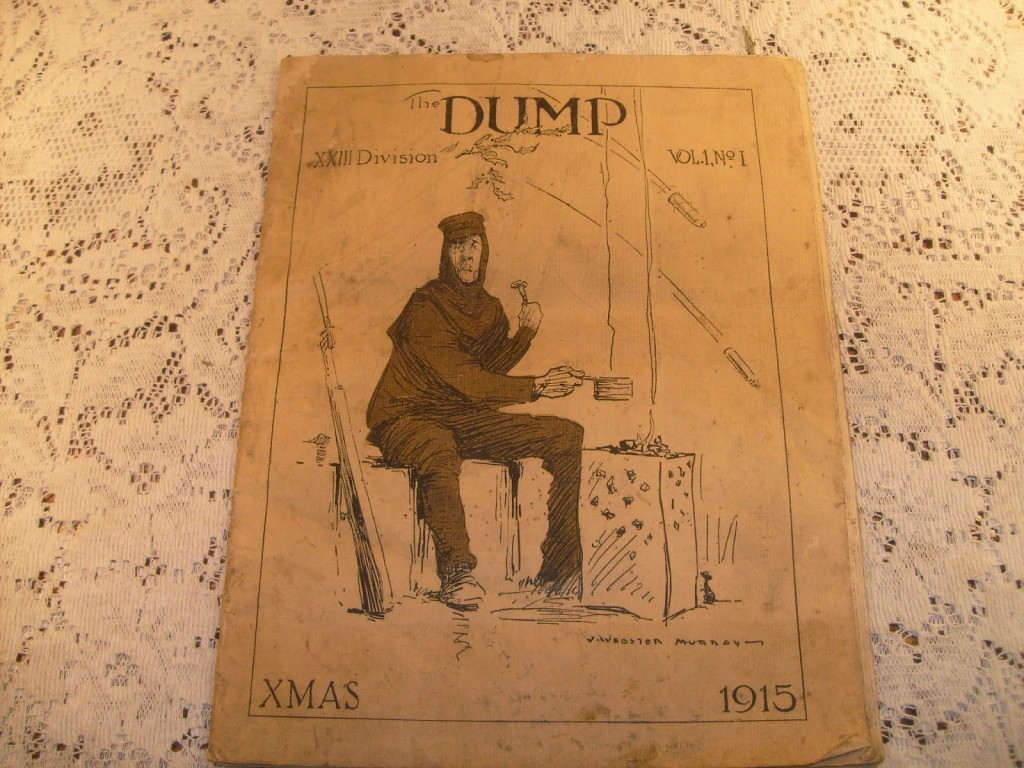 Hungerford Arcade A Wwi Trench Journal The Dump Diagram During Times Of War When Serving Troops Are Suffering Great Hardship Through Situations They Cant Control Keeping Morale High Is One Biggest