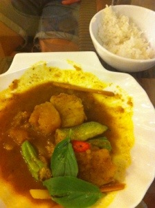 Red curry, Thailand