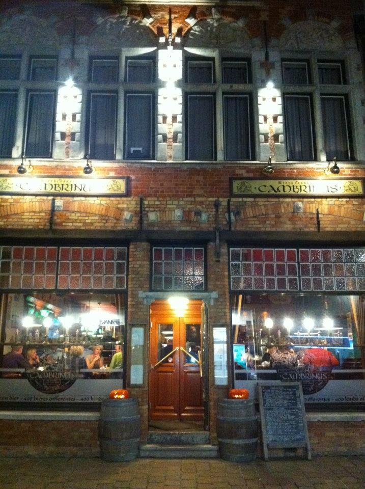 A pub in Bruges