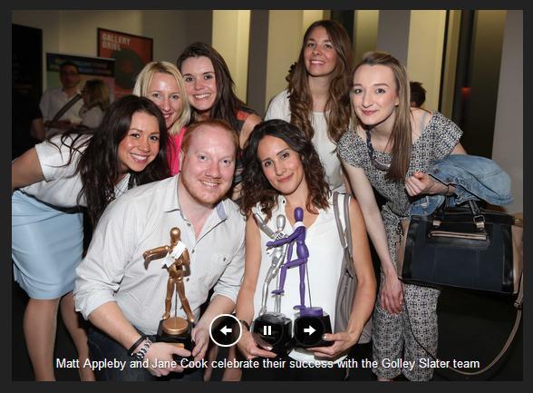Golley Slater Wales Blog Awards