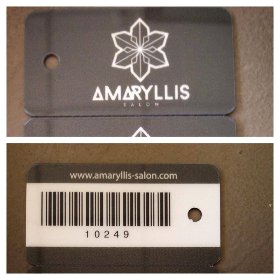 Amarylis Loyalty Cards