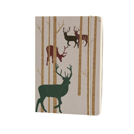 A5 stag notebook from the Woodland Trust, £7.50
