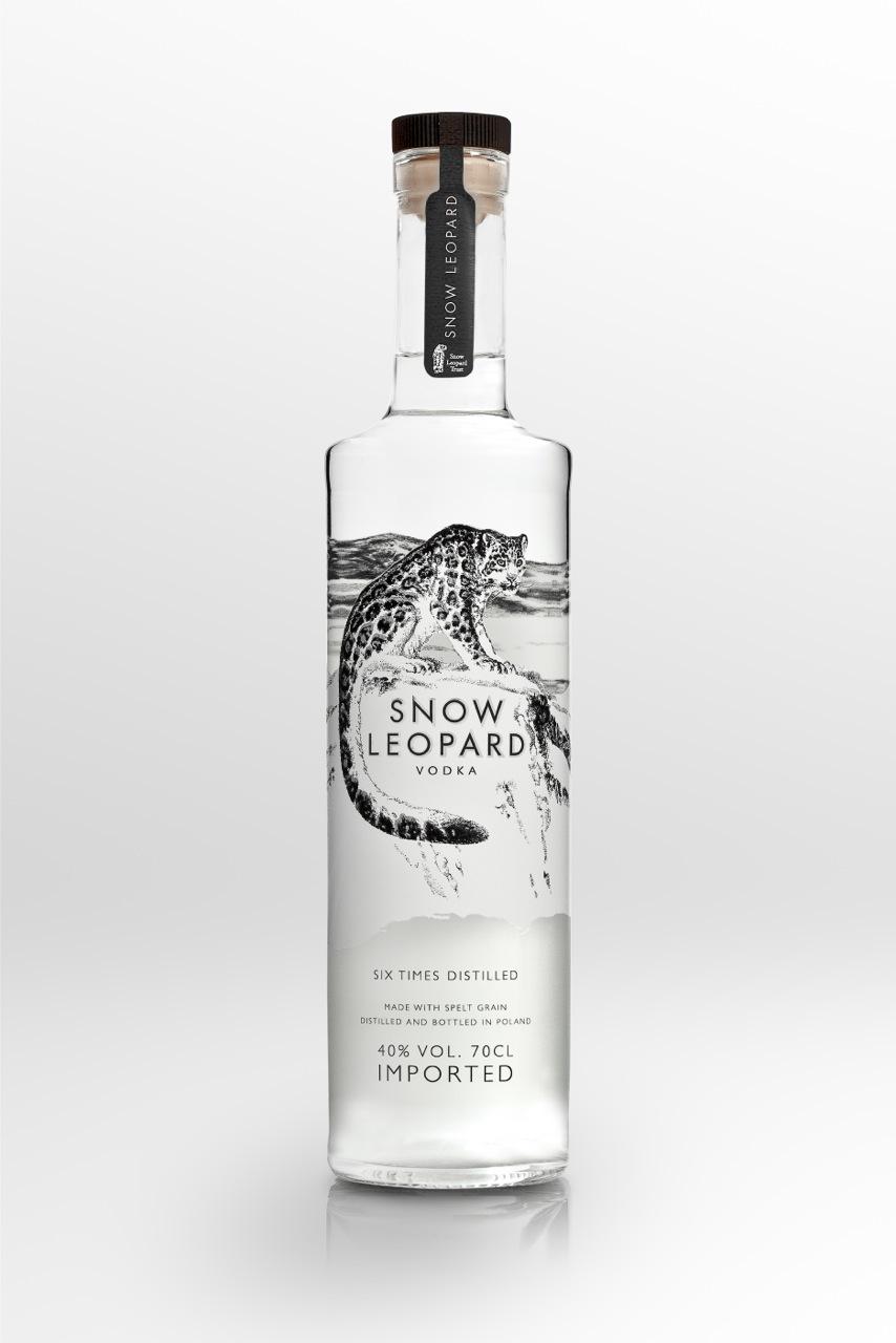 1. Snow Leopard Vodka, £36