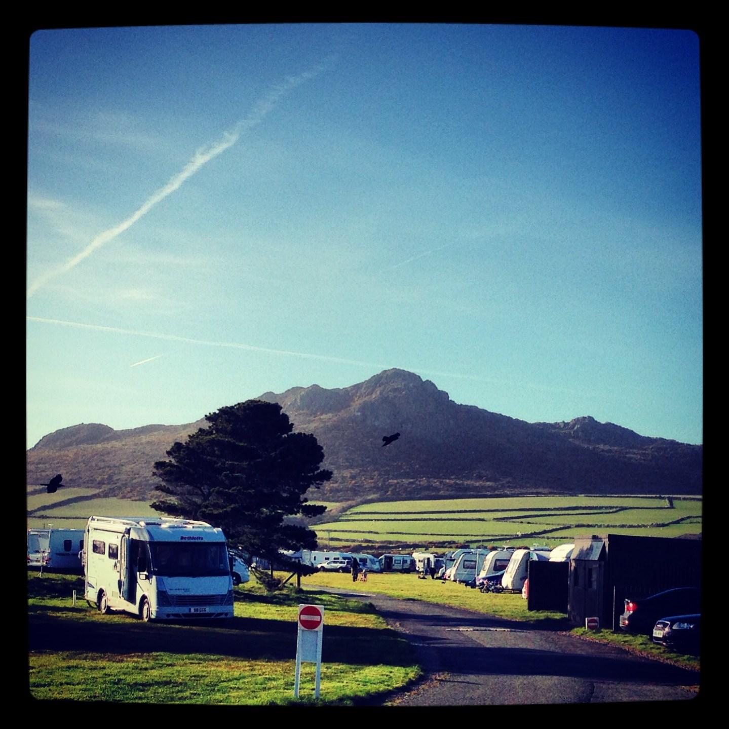 Lleithyr Farm caravan site is pretty special…