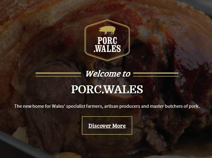 The new porc.wales website showcases the pork industry in Wales