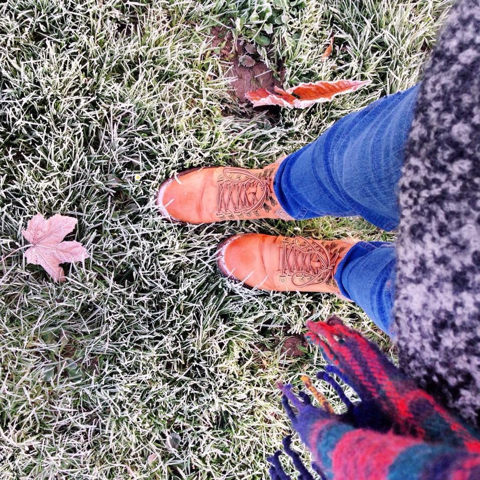 Winter walking boots