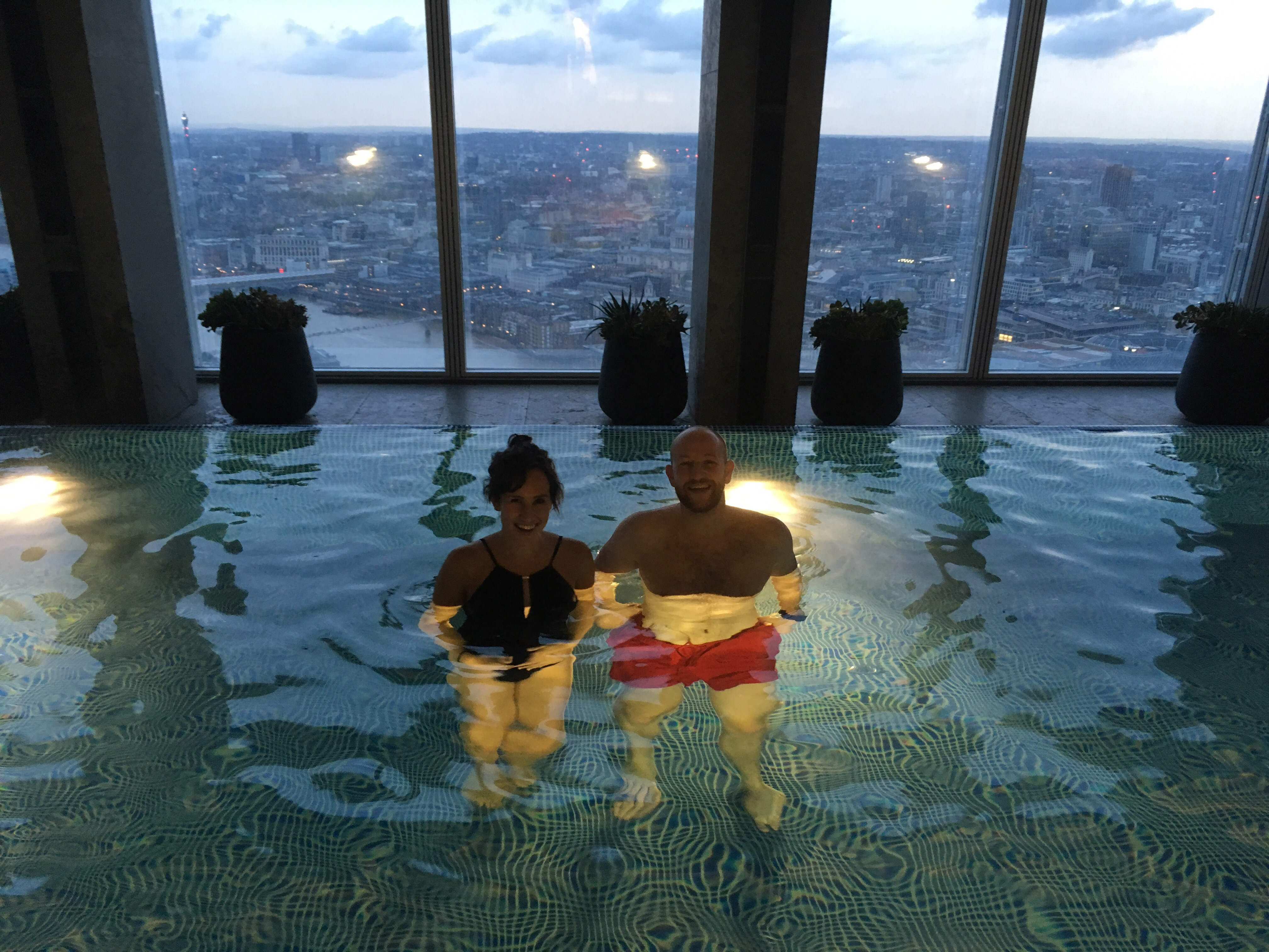 Pool at The Shard