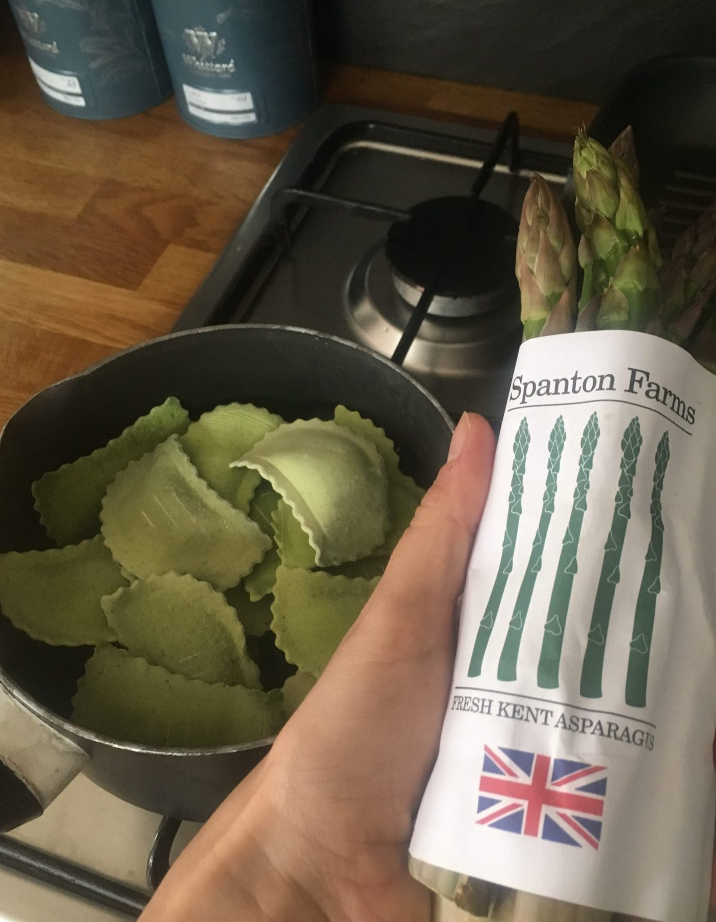 Asparagus and pasta