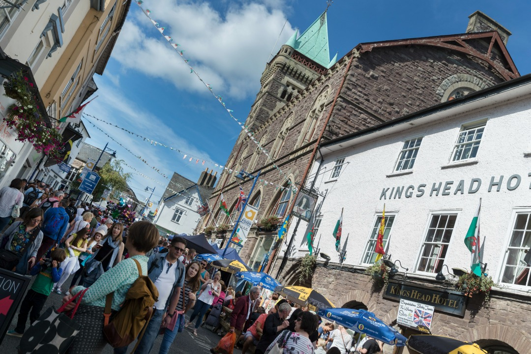 Win two tickets to Abergavenny Food Festival 2018